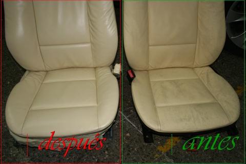 como reparar asientos de cuero Barcelona