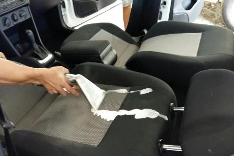 limpiar cuero coche
